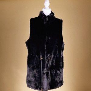Michael by Michael Kors Faux Fur Vest